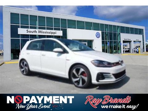 New 2019 Volkswagen Golf GTI 2.0T SE FWD 4D Hatchback
